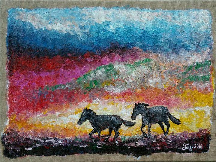 """""""Horses"""" - Tury Arts"""