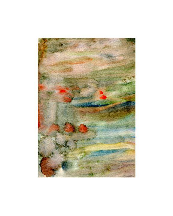 Watercolor Artwork - Martine Hébert