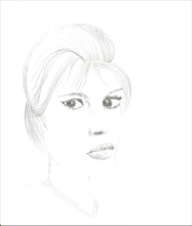 Woman Portrait - Martine Hébert