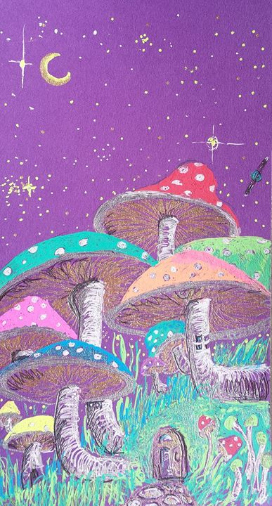 Mushroom Cottage - Molly Dallimore