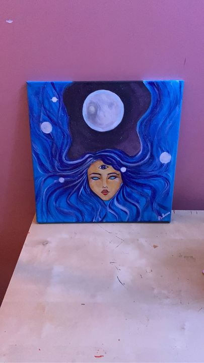 Connected with universe - B.Luna's Art gallery