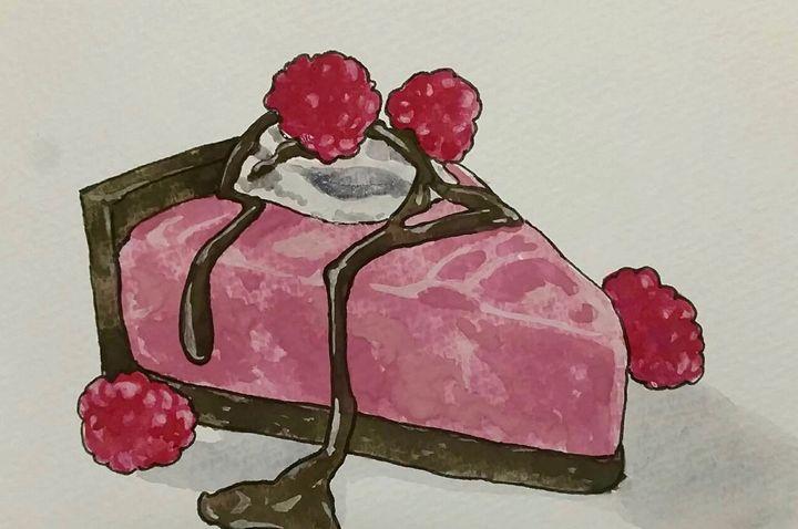 Choco Raspberry Cheesecake - Simply Sweet