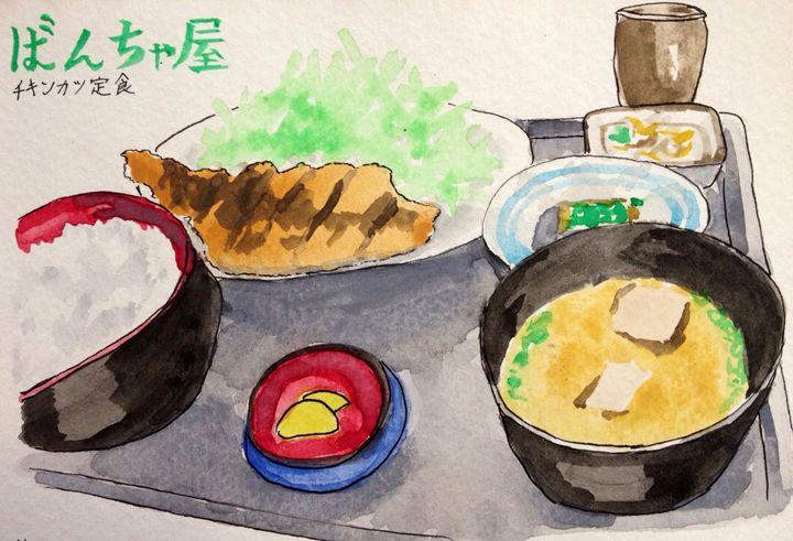Chicken Katsu Set - Simply Sweet