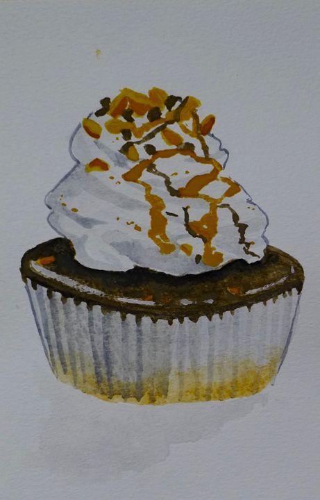 PB Choco Cupcake - Simply Sweet