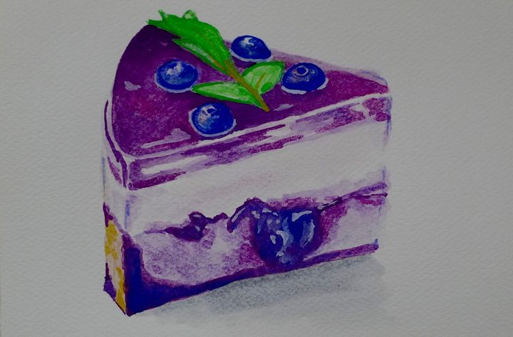 Blueberry Cheesecake - Simply Sweet