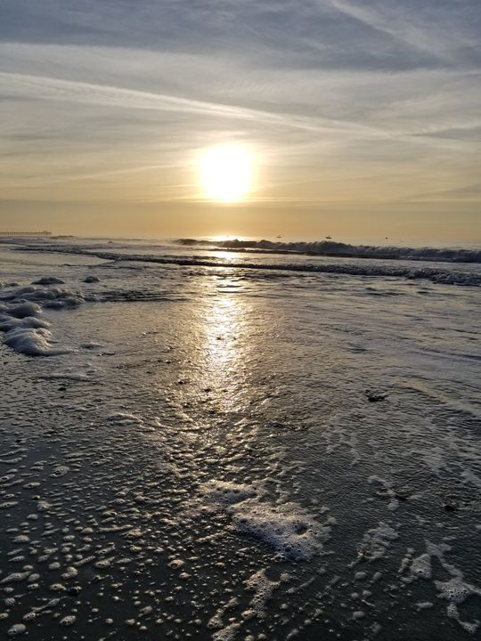 Ocean bubbles - kathleen Kennedy