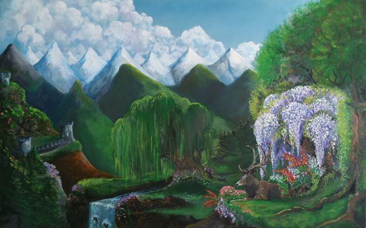 oil paint - Guram Barbakadze