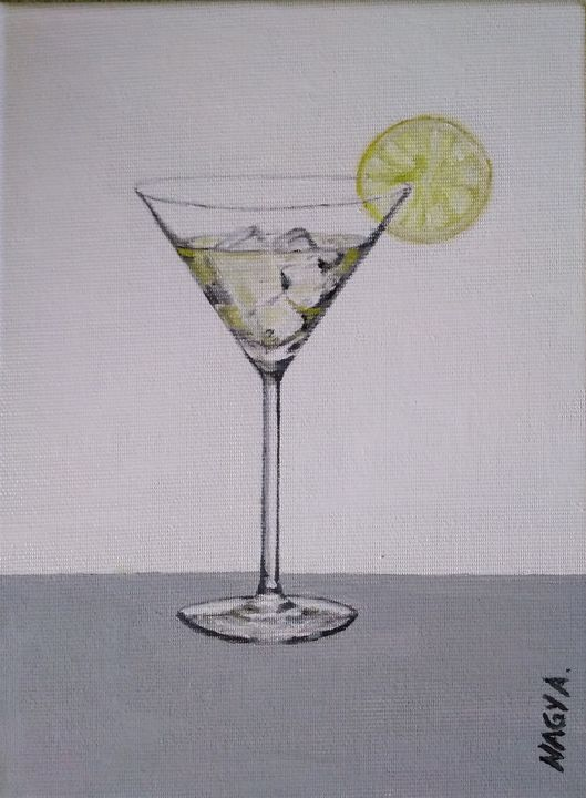 Martini with ice - Anistudio