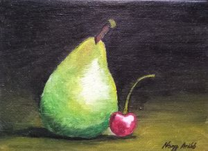 Pear and cherry