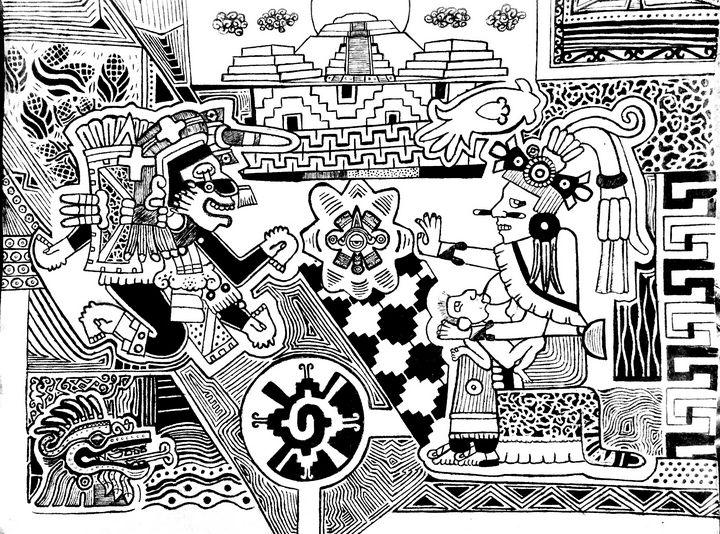 Xochiquetzal & the calamity - Topiltzin G