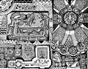 Quetzalcóatl & Tonatiuh