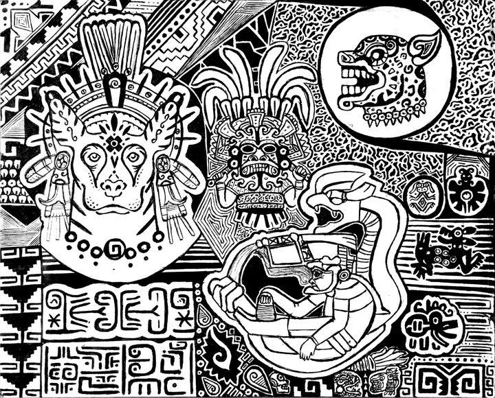 Xolotl & the Traveler - Topiltzin G