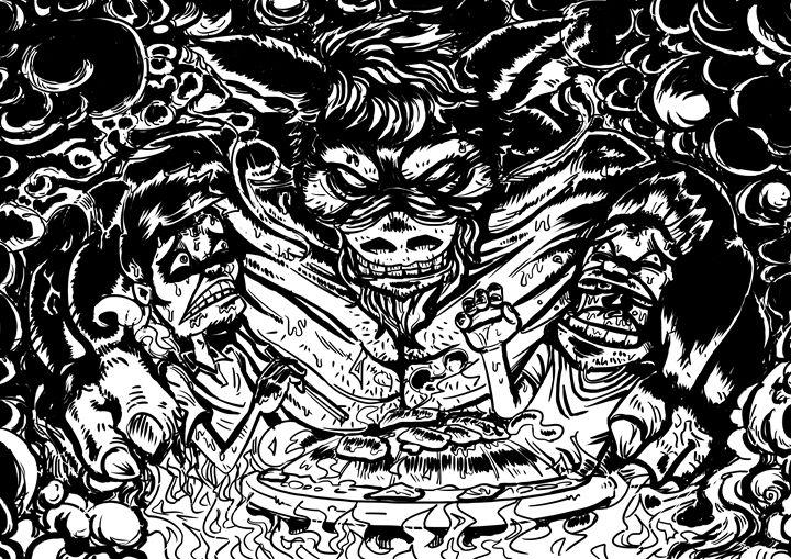 Demon pig - ZIIINVN
