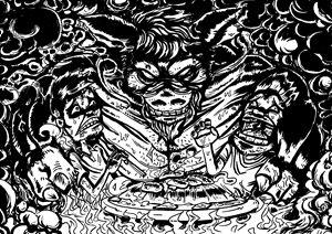 Demon pig