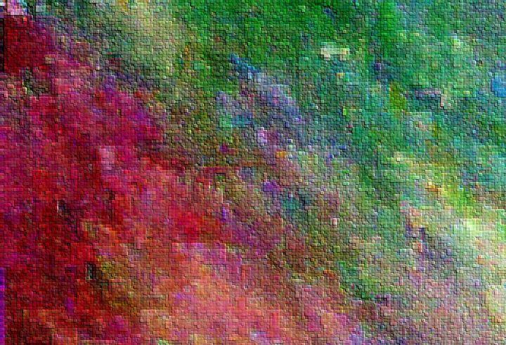 Meadow in Pink - Sage Ashley Art