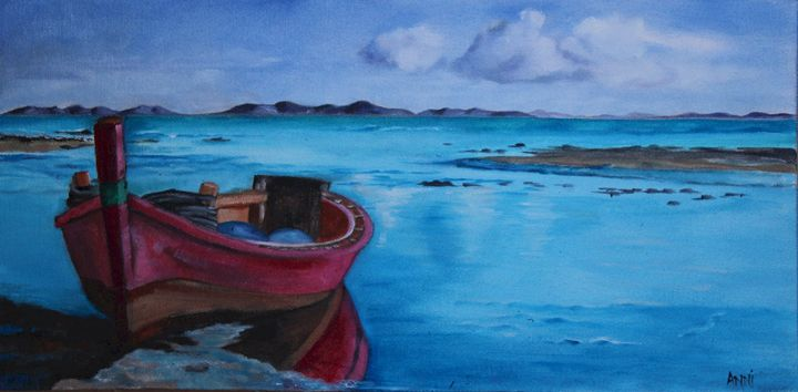 My red boat - Anni