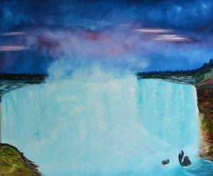 Niagara falls - Sofic art