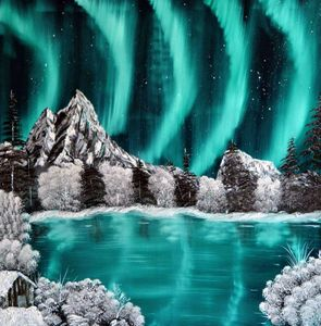 Northern  Lights - Sofic art