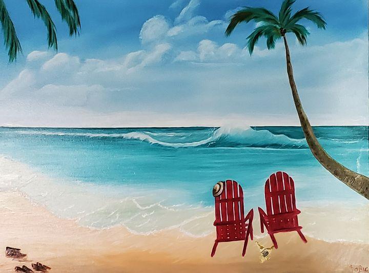 Beach - Sofic art