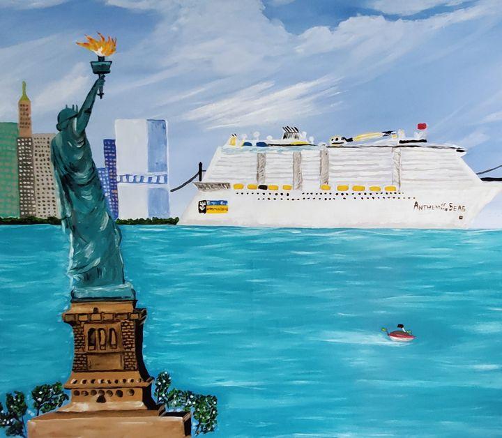 Statue of Liberty - Sofic art