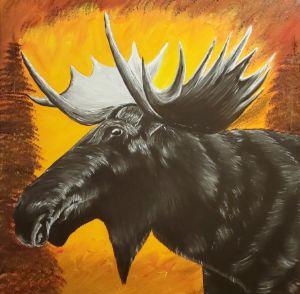 Moose - Sofic art