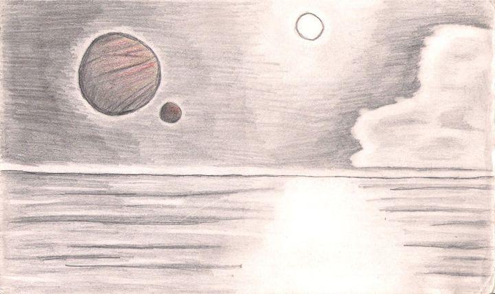 A Planetary Dance - Gloria's Art Works