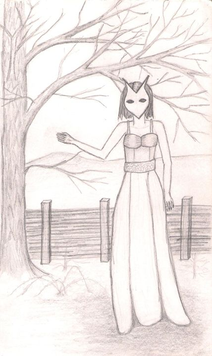 A Forest Guardian - Gloria's Art Works