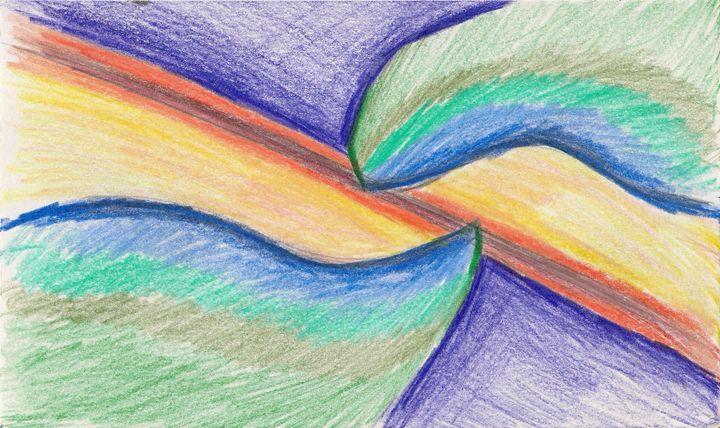 Shifting Colors - Gloria's Art Works