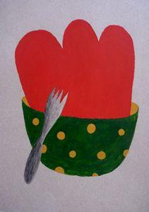 Lunch Time - Leon Gutierrez