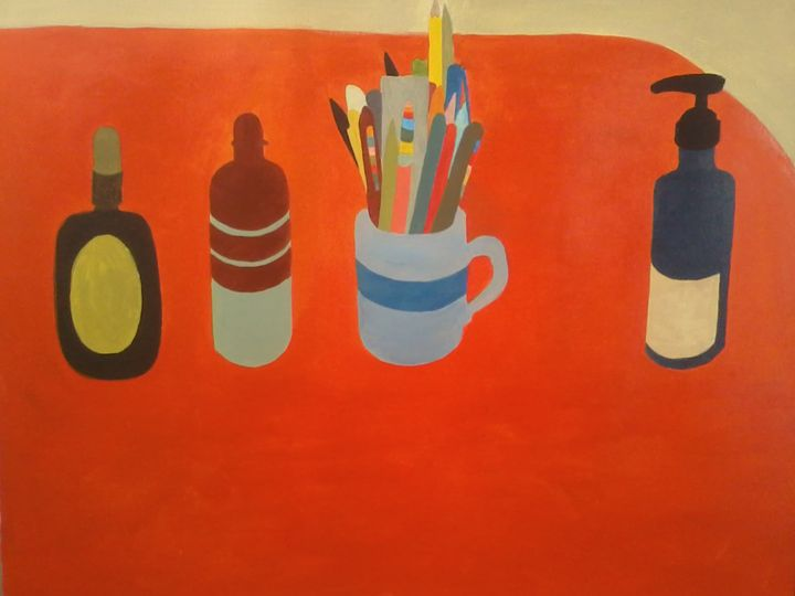 Desk Composition 1(2016) - Connor Lee-Merrion