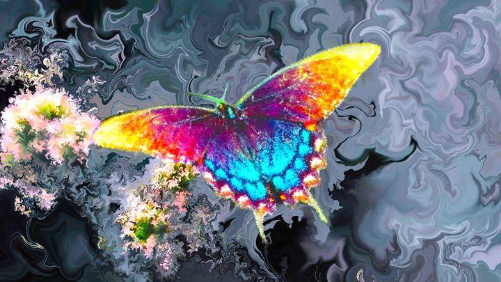 butterfly flowers - - Alexander Del Rey