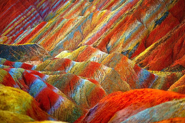 colored mountains - Alexander Del Rey