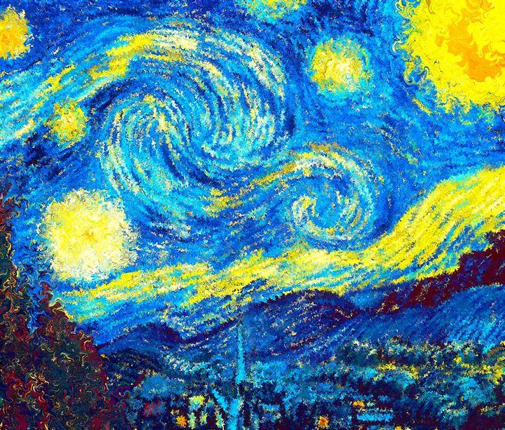 The Starry Night Van Gogh - Alexander Del Rey