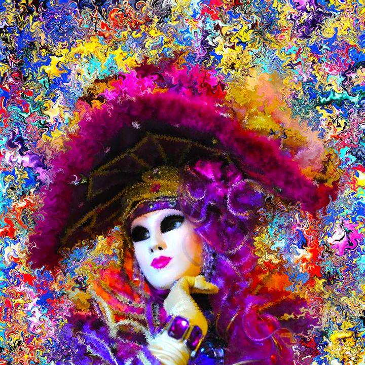 mask carnival Venice - Alexander Del Rey