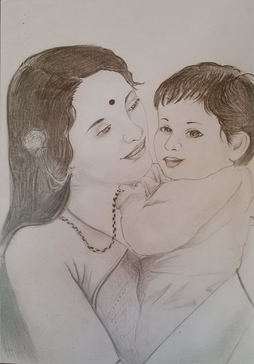 Mother's love - Rajasekaran - My arts