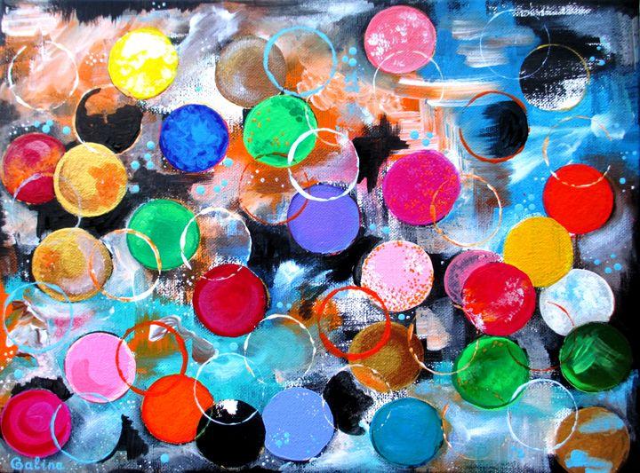 Abstract Etude - Caribe Art