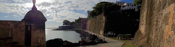 Paseo del Morro, Old SJ, Puerto Rico - Caribe Art