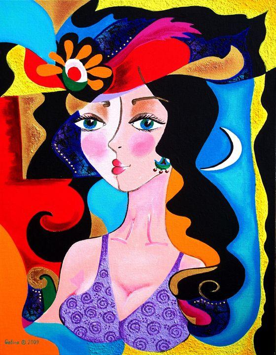 Beauty in the Night - Caribe Art
