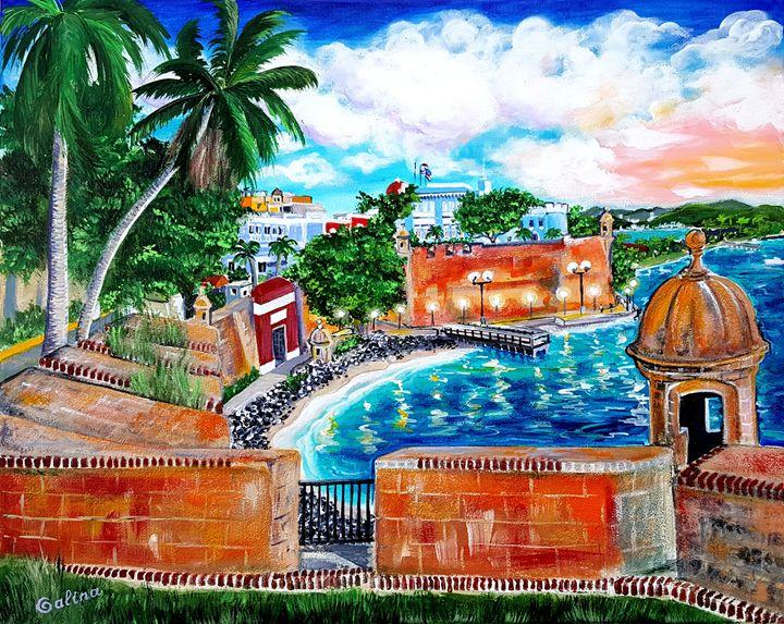 Fortress, Old San Juan, Puerto Rico - Caribe Art