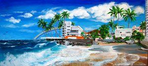 Isla Verde, Carolina, SJ Puerto Rico - Caribe Art