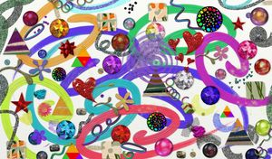 Festive Collage