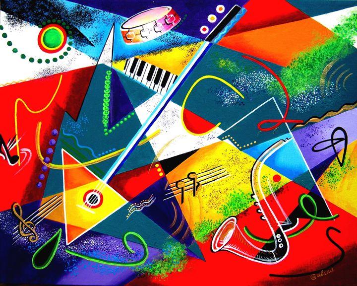 Performing Arts - Energy of Music - Caribe Art