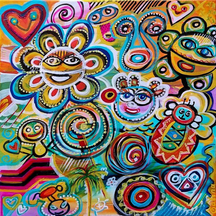 Echoes of Taino - Caribe Art
