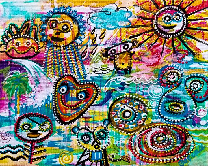 Taino Etude - Caribe Art