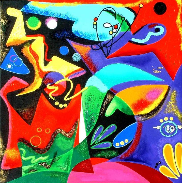 Abstract - Marine - Caribe Art