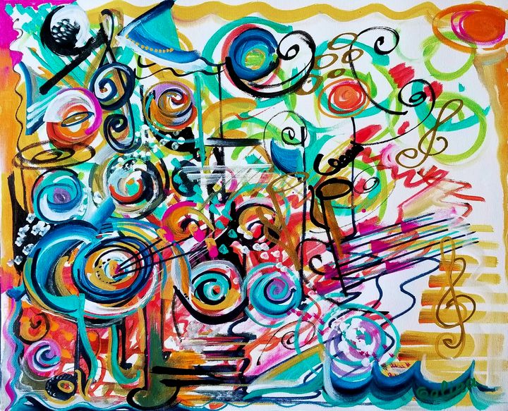 Melody of Color - Caribe Art