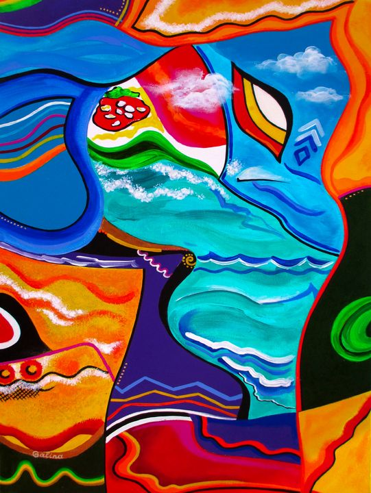 Colorful Charms - Caribe Art