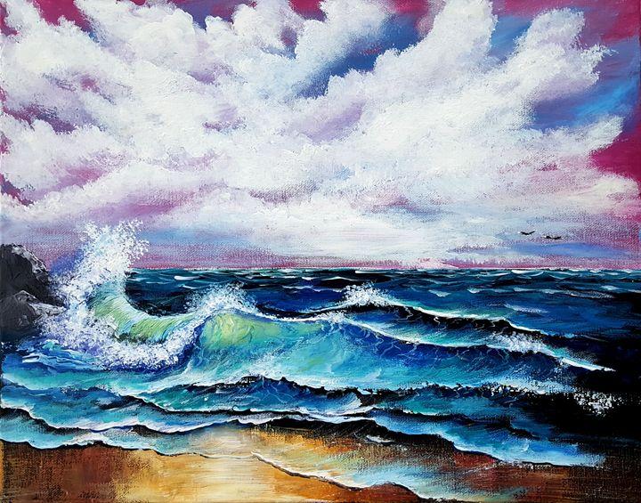 Seascape - Caribe Art