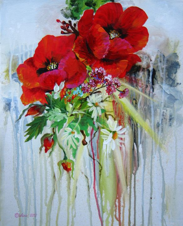 Poppies - Caribe Art