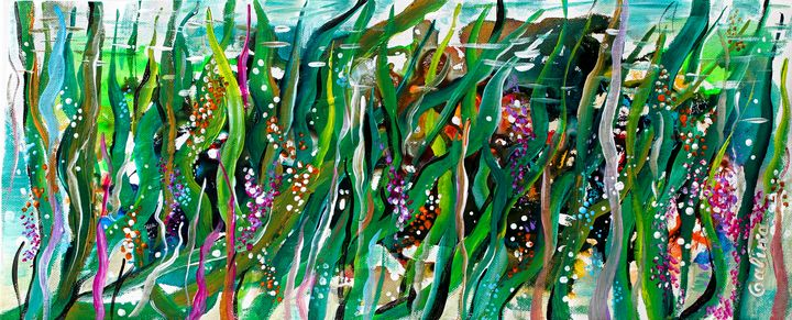 Kelp Forest 211020 - Caribe Art